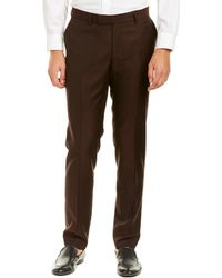 The Kooples - Deep Caviar Fitted Wool Pant - Lyst