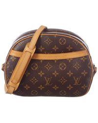 Louis Vuitton Monogram Canvas Blois - Brown