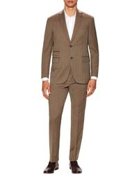 Michael Bastian - Gray Label Wool Herringbone Notch Lapel Suit - Lyst