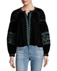 Antik Batik - Koti Embroidered Jacket - Lyst