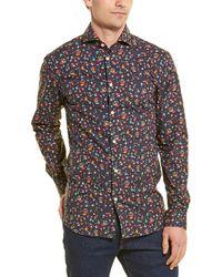 SELECTED Slim Sel-birds Woven Shirt