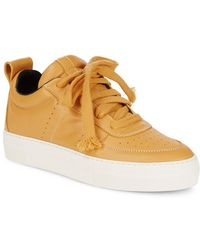 Helmut Lang - Low Top Leather Trainer - Lyst
