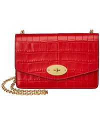 Mulberry - Small Darley Croc-embossed Leather Crossbody - Lyst