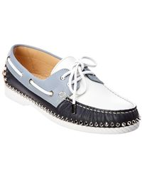 8549aea1727f Lyst - Christian Louboutin Spooky Spiked Loafers in Black for Men