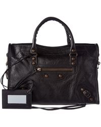Balenciaga - Classic City Leather Shoulder Bag - Lyst