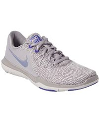 bed7edec43eb0 Lyst - Nike Flex Supreme Tr Ii Fitness Women s Shoes Size in Gray