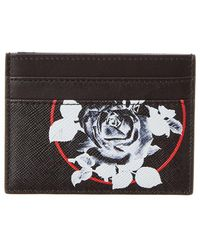 Dior - Homme Floral Leather Card Case - Lyst