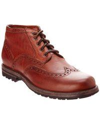Frye - Men's Phillip Leather Wingtip Boot - Lyst