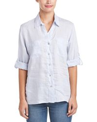 4our Dreamers - Collared Linen Shirt - Lyst