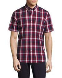 Jack Spade - Caufield Exploded Blocked Plaid Sportshirt - Lyst