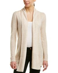 In Cashmere - Incashmere Long Sleeve Cashmere Cardigan - Lyst