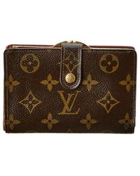Louis Vuitton - Monogram Canvas Viennois Wallet - Lyst