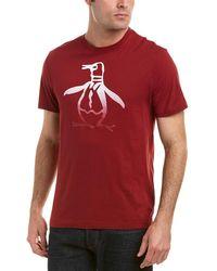 Original Penguin - Ombre Pete Graphic T-shirt - Lyst