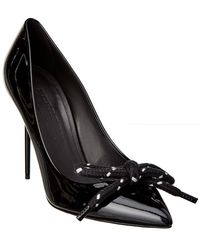 Burberry - Patent Rope Stiletto Pump - Lyst