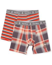 Psycho Bunny - Boxer Brief Two-piece Gift Set - Lyst
