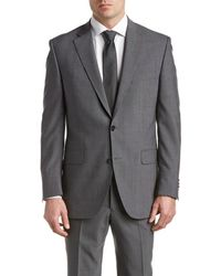 Peter Millar - Wool Suit With Flat Front Pant - Lyst