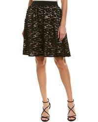 Trina Turk - Amora Silk-trim A-line Skirt - Lyst