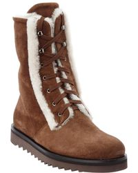 Aquatalia - Payton Waterproof Suede Boot - Lyst