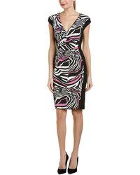ESCADA - Sheath Dress - Lyst