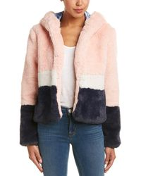 Ei8ht Dreams Hooded Jacket - Pink