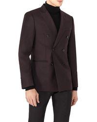 Reiss - Island Slim Fit Wool Jacket - Lyst