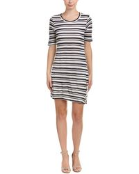 Splendid - Perforated Sheath Dress - Lyst