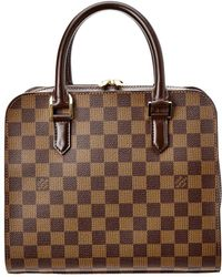 Louis Vuitton - Damier Ebene Canvas Triana - Lyst
