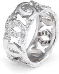 Cartier - Cartier 18k 0.50 Ct. Tw. Diamond Ring - Lyst