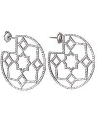 Heritage Tiffany & Co. - Tiffany & Co. Platinum 4.50 Ct. Tw. Diamond Drop Earrings - Lyst