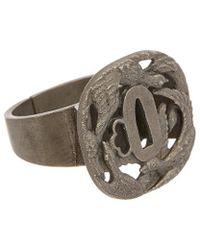 Valentino - Brass Bird Ring - Lyst
