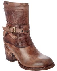 Bed Stu - Rowdy Leather Bootie - Lyst