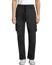 James Perse - Stretch Poplin Cargo Pant - Lyst