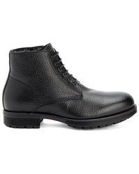 Aquatalia - Hayes Waterproof Leather Shearling Boot - Lyst