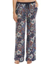 Kensie - Wide Leg Pyjama Pant - Lyst