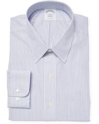 Brooks Brothers - Dobby Stripe Dress Shirt - Lyst