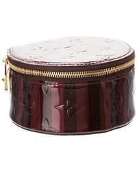 Louis Vuitton - Amarante Monogram Vernis Leather Bijoux Jewellery Case - Lyst