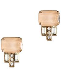 Loren Hope - 18k Plated Studs - Lyst