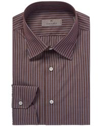 Canali - Modern Fit Dress Shirt - Lyst