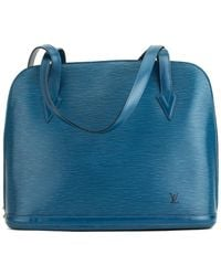 Louis Vuitton - Blue Epi Leather Lussac - Lyst