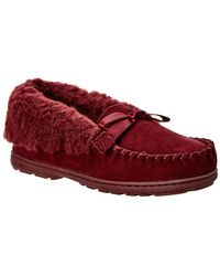BEARPAW - Indio Suede Slipper - Lyst
