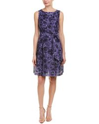 Anne Klein - A-line Dress - Lyst