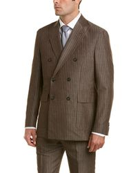 Michael Bastian - 2pc Suit With Flat Pant - Lyst