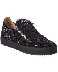 Giuseppe Zanotti - Suede Sneaker - Lyst