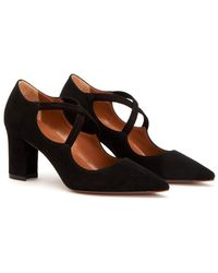 Aquatalia - Madeline Waterproof Suede Pump - Lyst