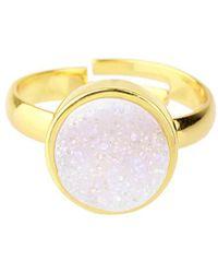 Saachi - Quartz Ring - Lyst