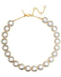 Lele Sadoughi - 14k Plated Crystal & Resin Necklace - Lyst