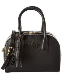 Tory Burch - Mcgraw Small Leather Satchel - Lyst