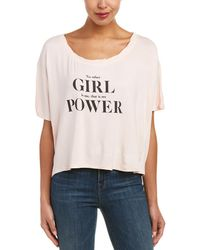 The Laundry Room - Girl Power Baggy Top - Lyst