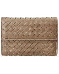 Bottega Veneta - Intrecciato Nappa Leather Continental Wallet - Lyst