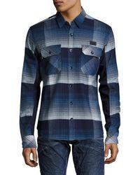PRPS - Goods & Co. Plaid Sport Shirt - Lyst